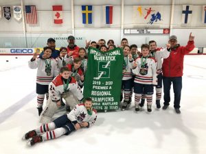 Peewee A Silver Stick Champions - Caps Academy