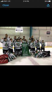 Squirt B Champion Arrows Hockey