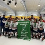 Silver Stick 2019 Champs Caps Hockey Academy Squirt 10U A White Team!
